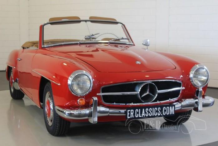 Mercedes Benz 190SL Cabriolet 1957 a vendre