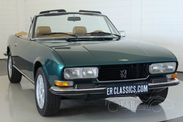 peugeot 504 cabriolet 1976 vendre erclassics. Black Bedroom Furniture Sets. Home Design Ideas