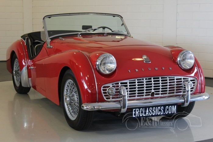 triumph tr3a roadster 1959 vendre erclassics. Black Bedroom Furniture Sets. Home Design Ideas