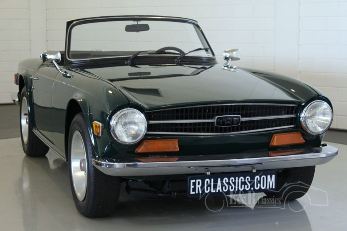 triumph tr6 cabriolet 1973 vendre erclassics. Black Bedroom Furniture Sets. Home Design Ideas
