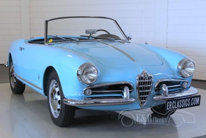 Alfa Romeo Giulietta Spider 1957 a vendre
