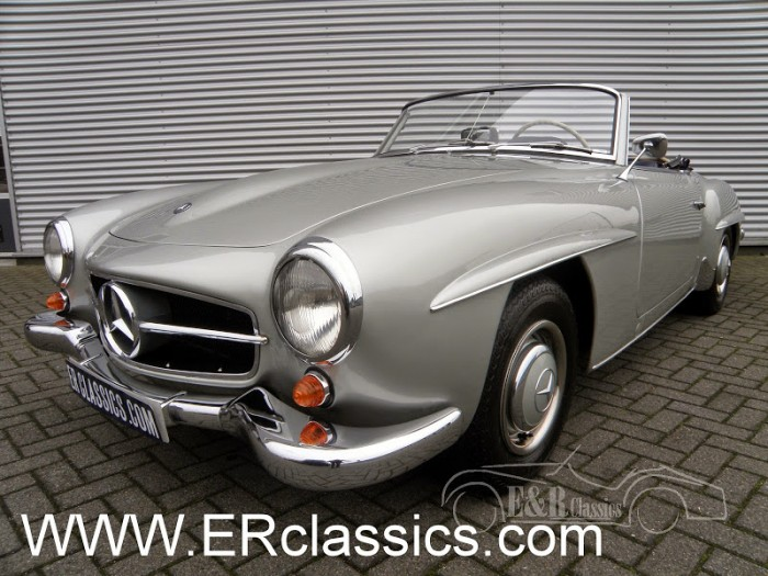 Mercedes 1956 a vendre