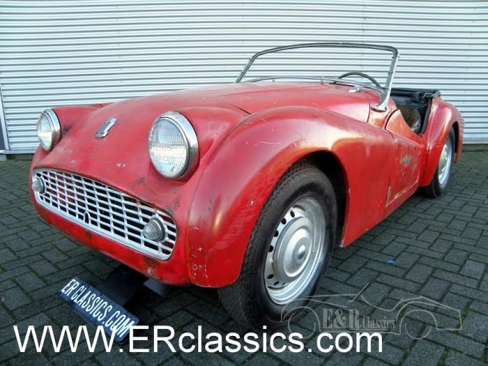 Triumph TR3 1958 a vendre