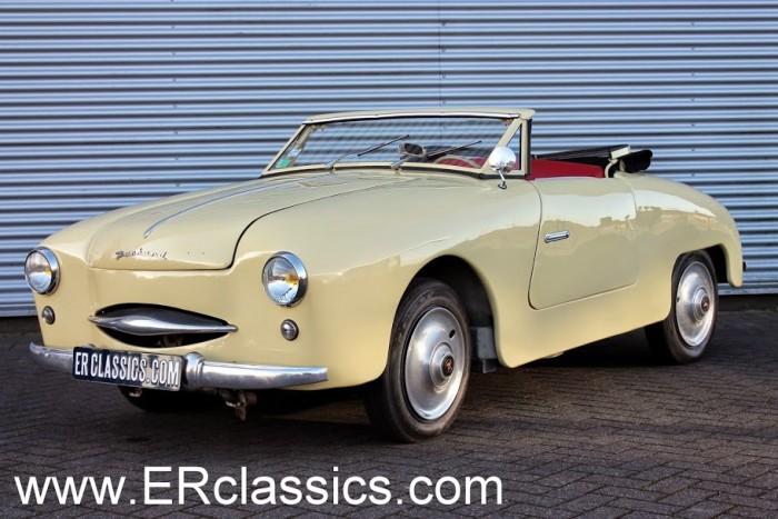 Panhard Dyna Junior Cabriolet 1954 a vendre