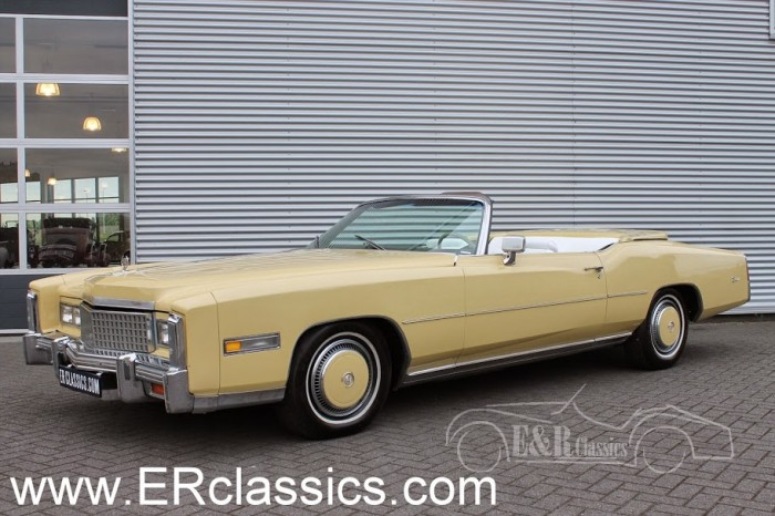 Cadillac 1975 a vendre