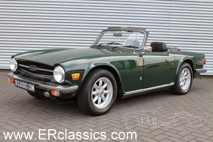 Triumph TR6 1974 a vendre