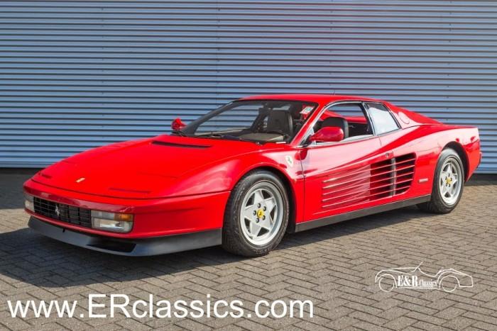 Ferrari Testarossa Coupe 1988 a vendre