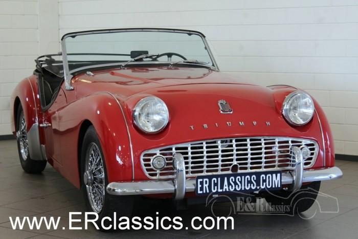 Triumph TR3 A Cabriolet 1959 a vendre