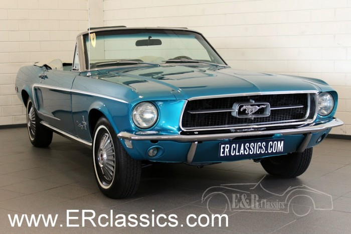 Ford Mustang Cabriolet 1968 a vendre