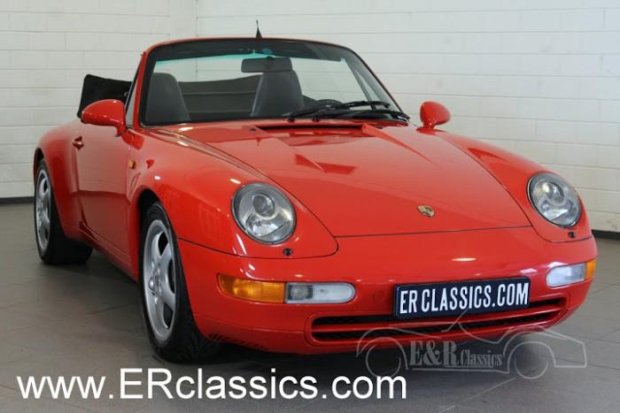 Porsche 993 Carrera Cabriolet 1994 a vendre