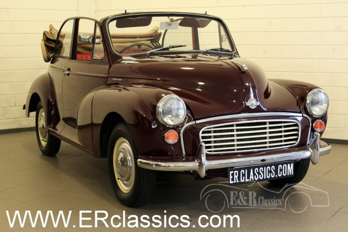 Morris Minor 1000 Cabriolet 1969 a vendre