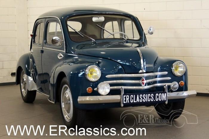 Renault 4 CV Saloon 1956 a vendre