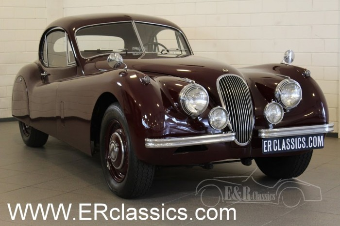 Jaguar XK120 Fixed Head Coupe 1952 a vendre
