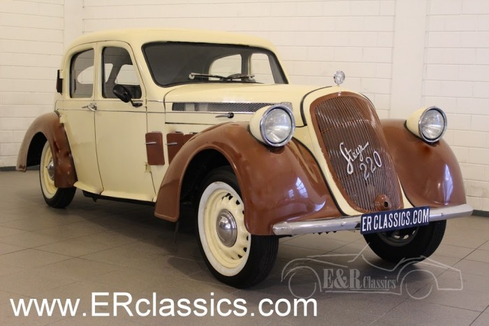 Steyr-Puch 220 Saloon 1938 a vendre