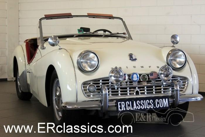 Triumph TR3 B Cabriolet 1962 a vendre