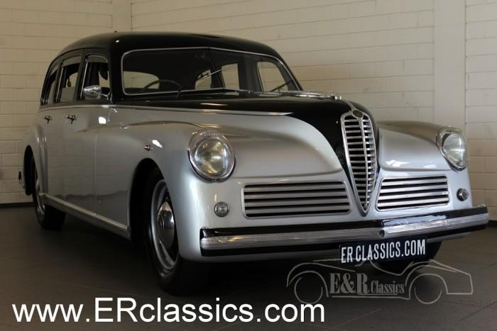 Alfa Romeo 6C Saloon 1949 a vendre