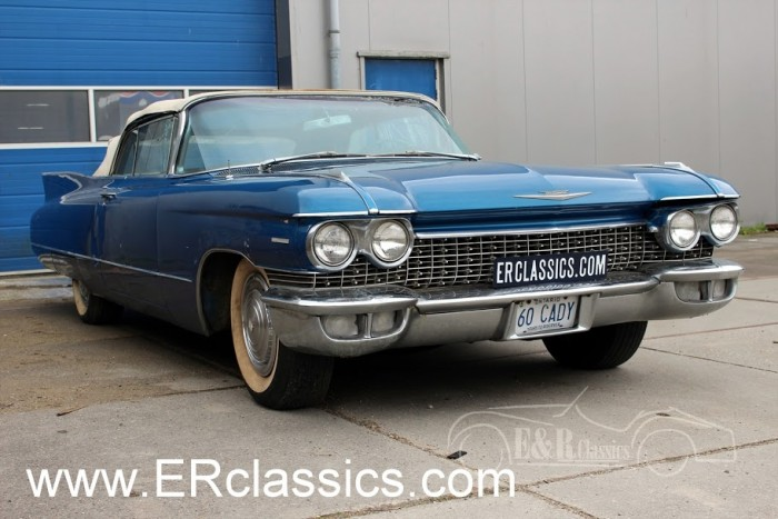 Cadillac Series 62 Cabriolet 1960 a vendre