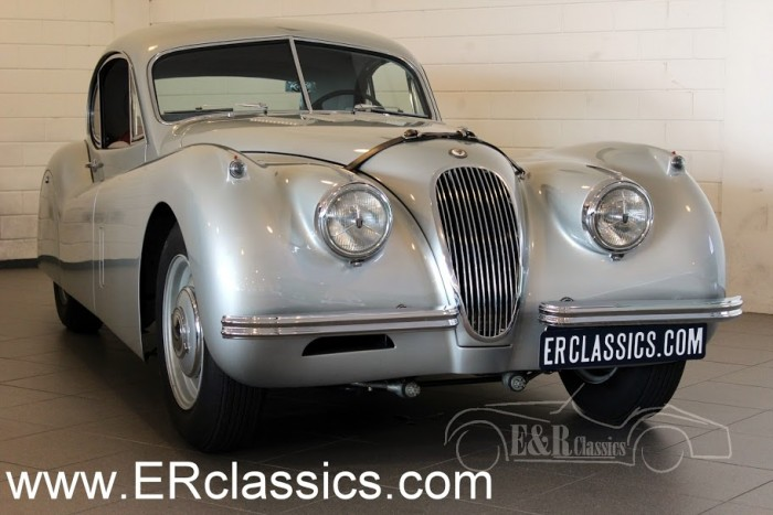 Jaguar XK120 Fixed Head Coupe 1954 a vendre
