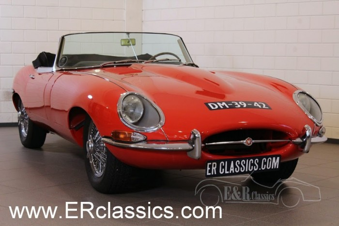 Jaguar E-Type Series 1 Roadster 1962 a vendre
