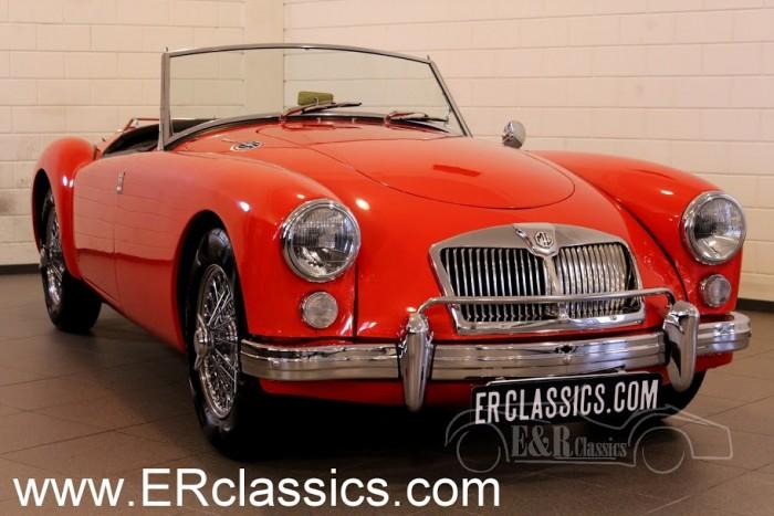 MG MGA Cabriolet 1962 a vendre