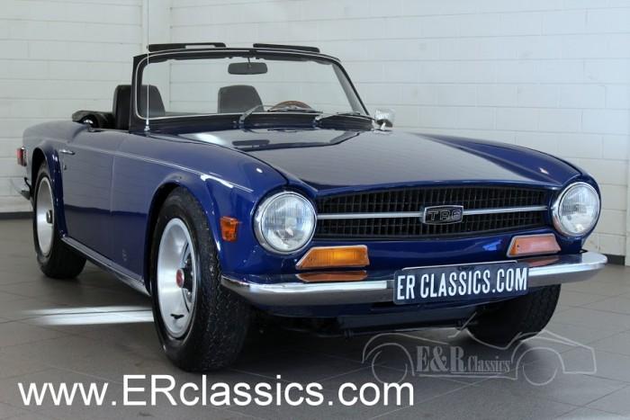 Triumph TR6 Cabriolet 1969 a vendre