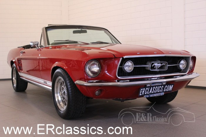 Ford Mustang Cabriolet 1967 a vendre