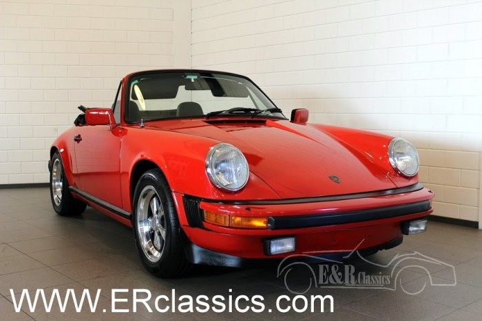 Porsche 911 SC Cabriolet 1983 a vendre