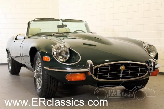 Jaguar E-Type Cabriolet 1972 a vendre