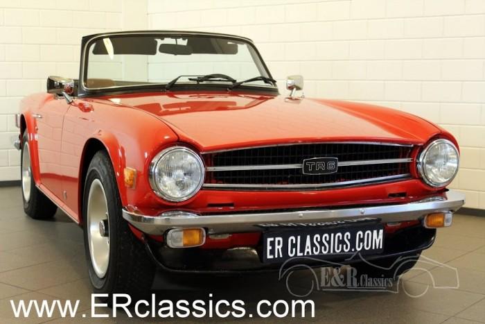 Triumph TR6 Cabriolet 1975 a vendre