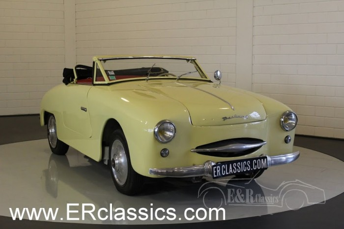 Panhard Dyna Junior Convertible 1954 a vendre