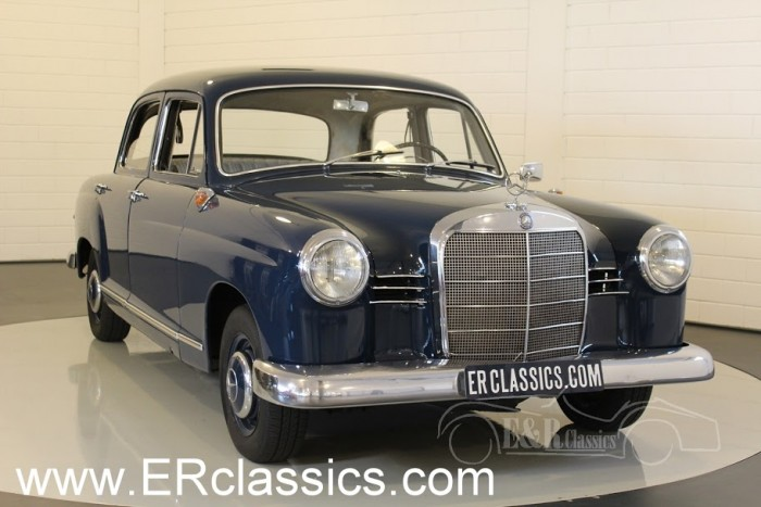 Mercedes Benz 180 Saloon 1960 a vendre