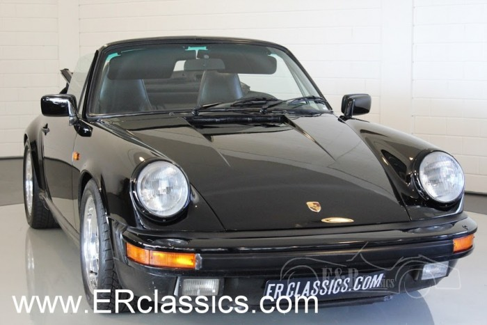 Porsche 911 Cabriolet 1986 a vendre
