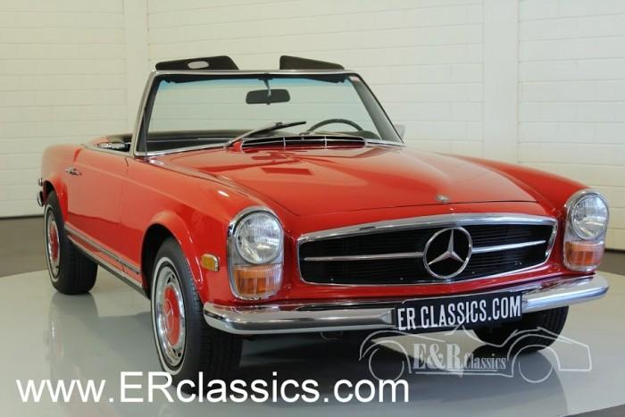 Mercedes Benz 280SL Cabriolet 1968 a vendre
