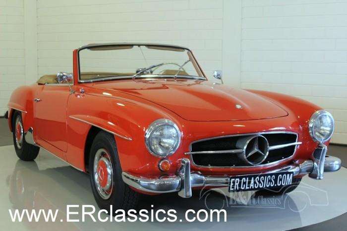 Mercedes Benz 190SL Cabriolet 1962 a vendre