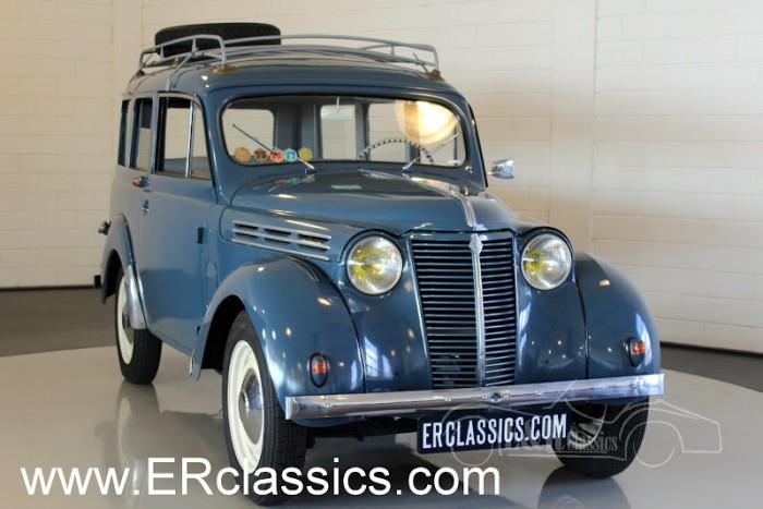 Renault Juvaquatre Dauphinoise 1956 a vendre