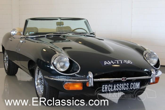 Jaguar E-Type Cabriolet 1971 a vendre