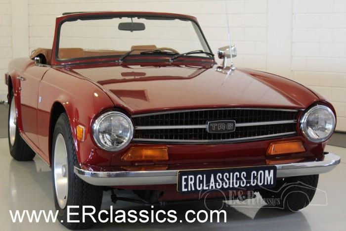 Triumph TR6 Cabriolet 1974 a vendre
