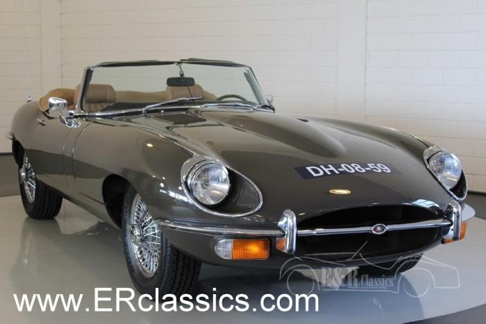 Jaguar E-Type S2 Cabriolet 1970 a vendre