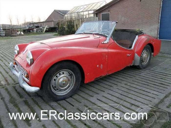 Triumph 1958 a vendre