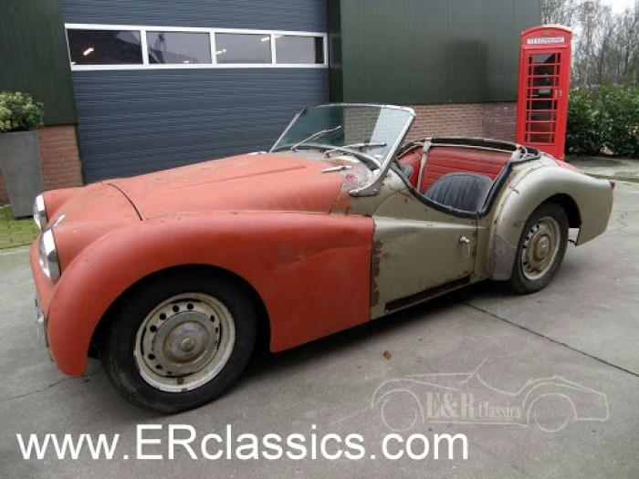 Triumph 1960 a vendre