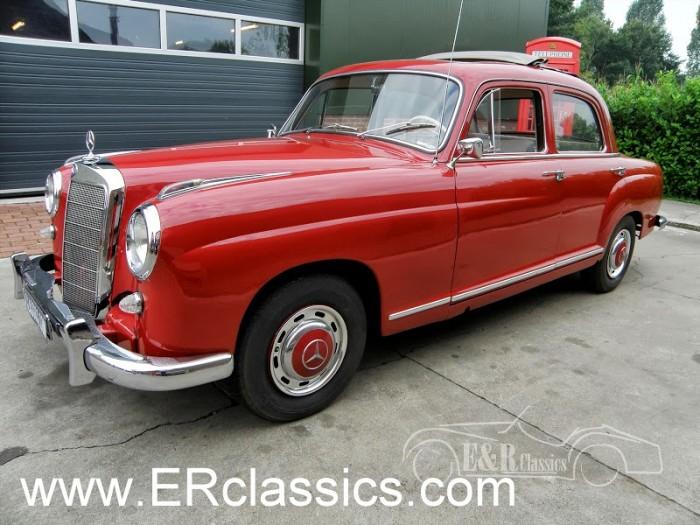 Mercedes 1958 a vendre