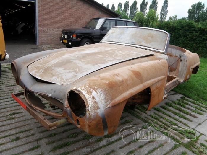 Mercedes 1955 a vendre