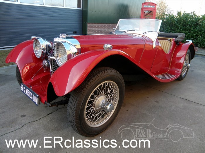 Jaguar 1936 a vendre