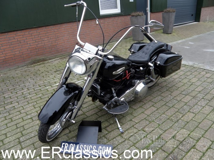 Harley Davidson 1966 a vendre