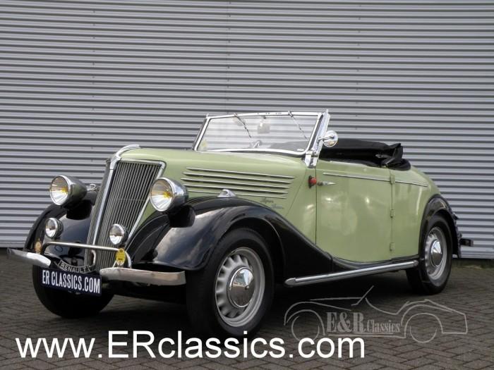 Renault Primaquatre Spider 1937 a vendre