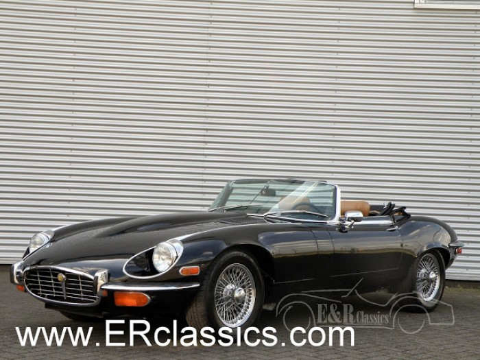 Jaguar E-Type 1972 a vendre