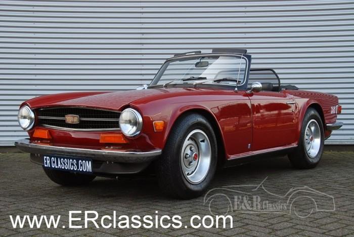 TR6 1974 a vendre