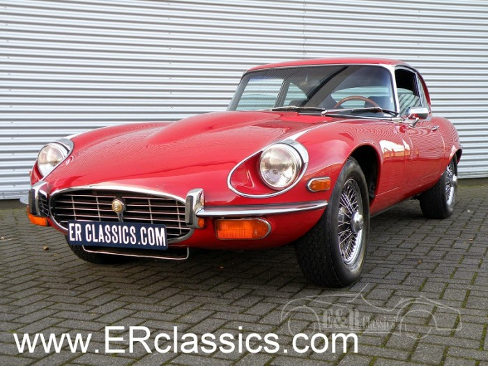 Jaguar E-Type 1973 a vendre