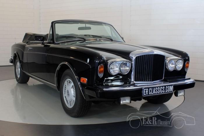 Bentley Continental 1986  a vendre