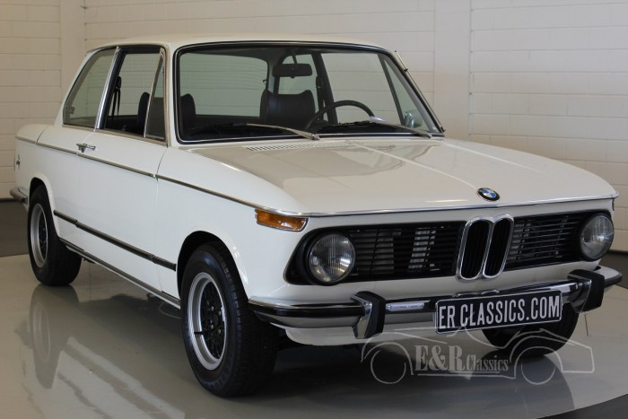 BMW 2002 1974 coupe Chamonix Weiss  a vendre